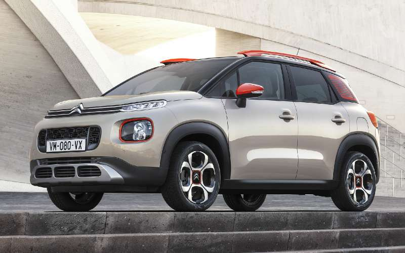 suv citroen c3 aircross will appear in russia in 2018. Black Bedroom Furniture Sets. Home Design Ideas