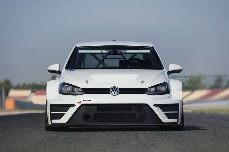 Концепт гоночного Volkswagen Golf