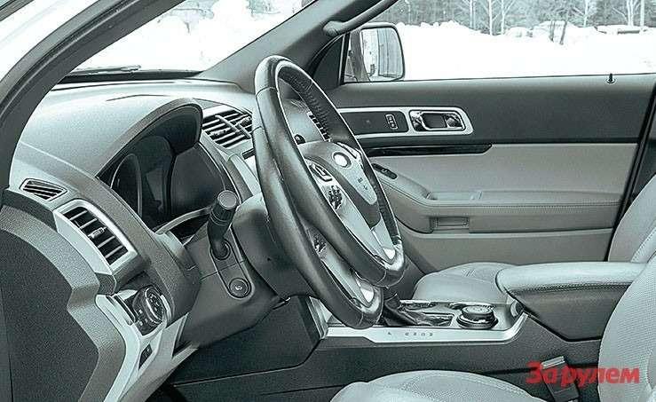 Ford Explorer регулировка руля