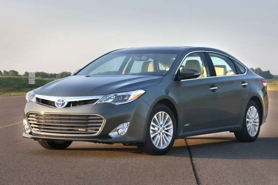 New Toyota Avalon side-front view