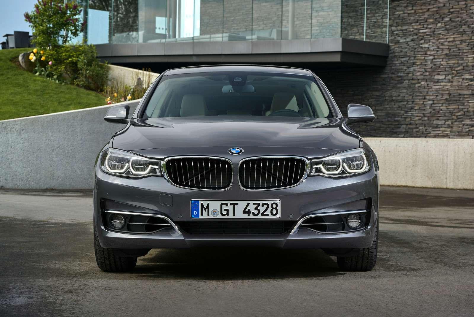 Обновленный BMW 3-й серии GT: урок эффективного менеджмента— фото 593849