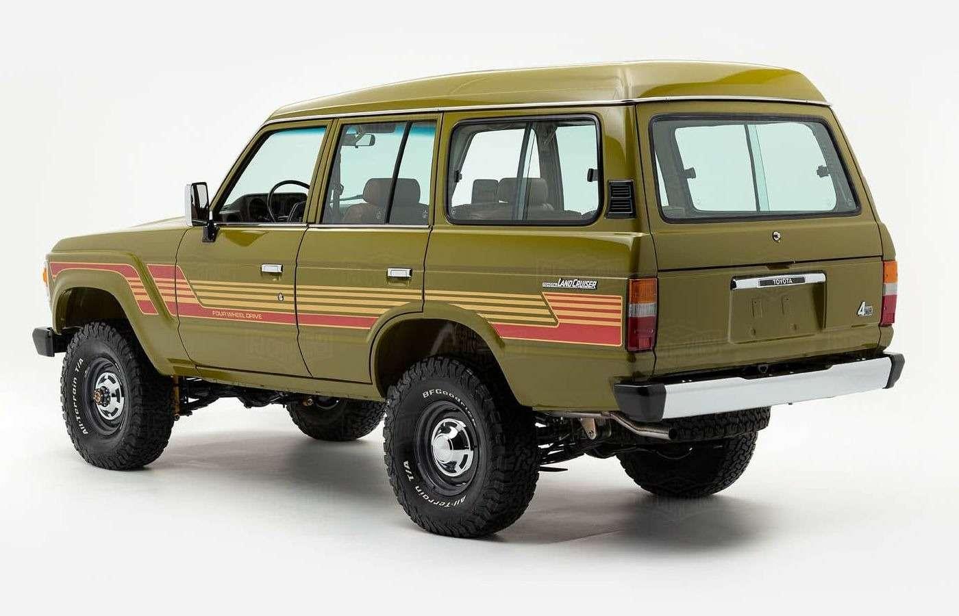 Абсолютно новый Toyota Land Cruiser 1986 года. Да, такое бывает!— фото 877220