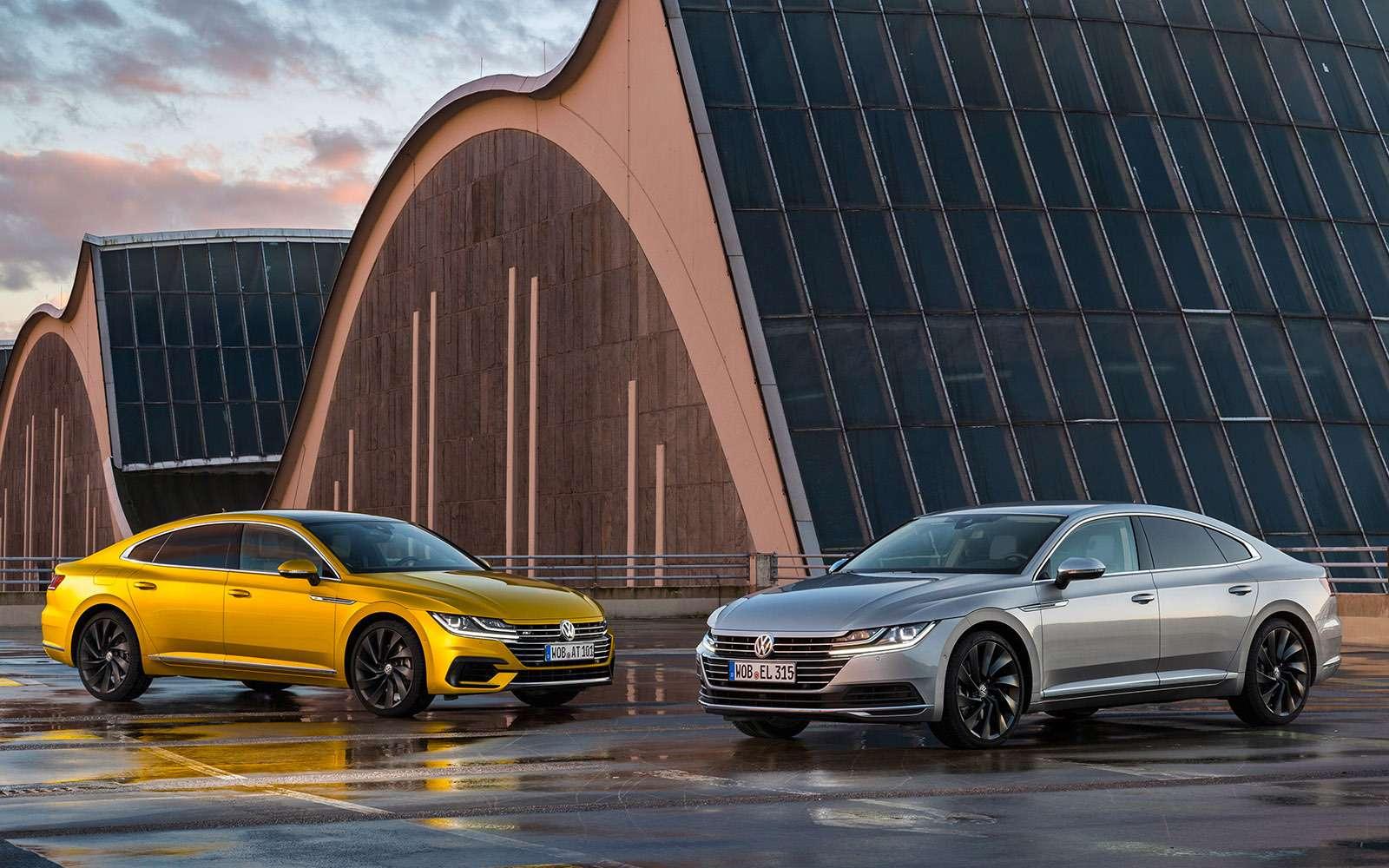 Volkswagen Arteon— первый тест-драйв— фото 768787