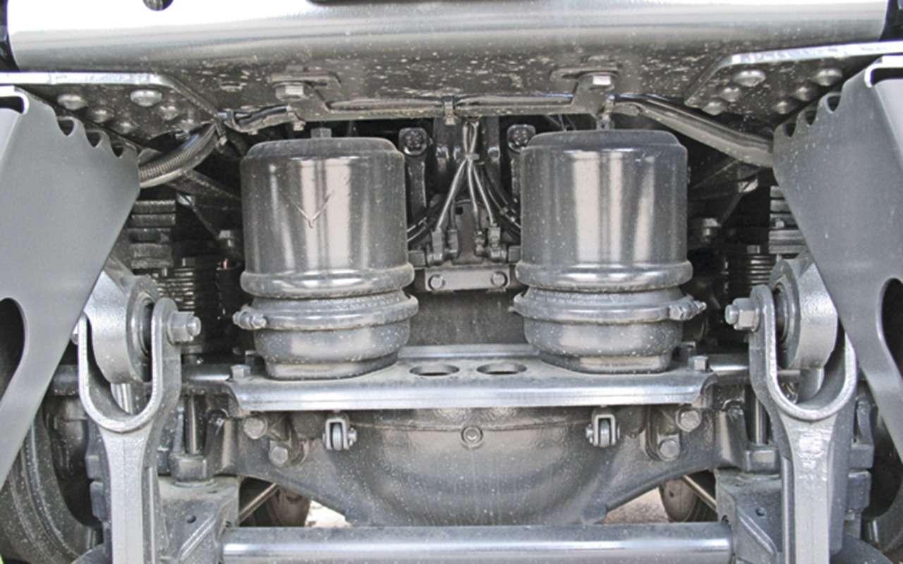 Mercedes Arocs российской сборки— детальный обзор— фото 1279136
