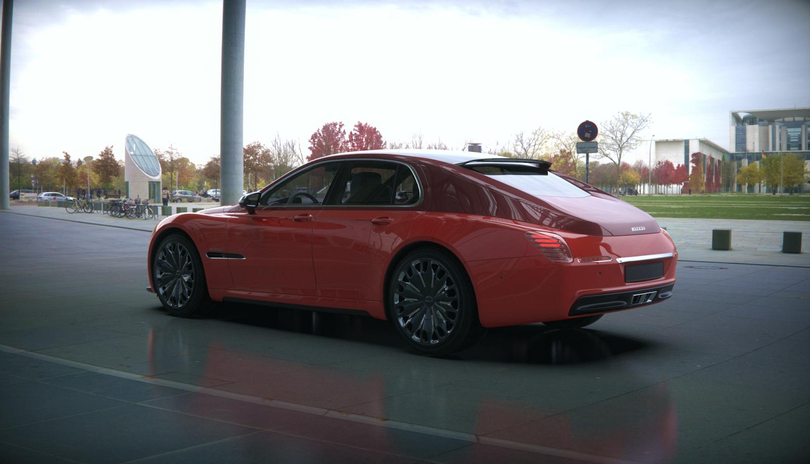 Новая Победа— как Porsche Panamera (или лучше)!— фото 853618