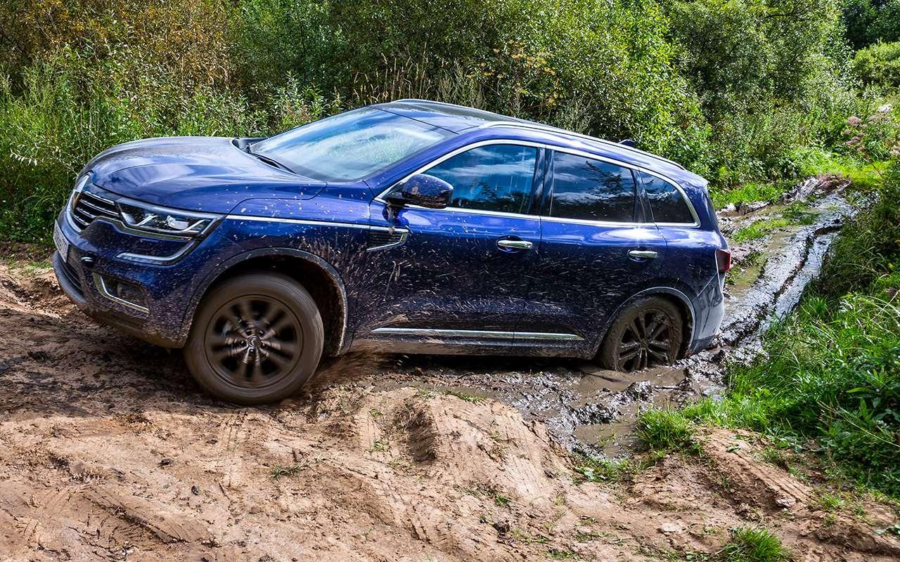 Hyundai Creta или Renault Koleos: чей полный привод круче? Часть 1— фото 825646