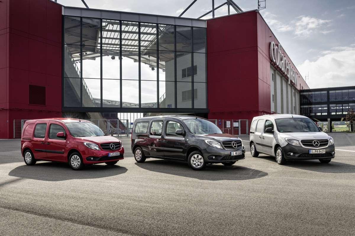 Citan neue Modelle 2013: 111CDI Mixto, 111CDI Kombi 7-Sitzer,