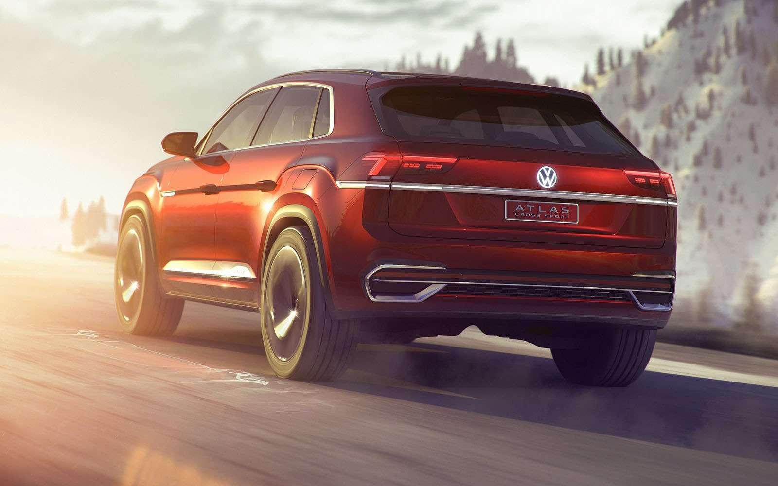 Volkswagen показал новый кроссовер. Ждем его вРоссии— фото 857624
