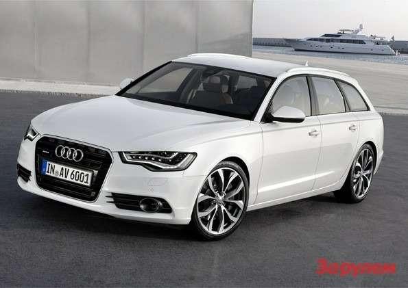 Audi A6Avant /Standaufnahme