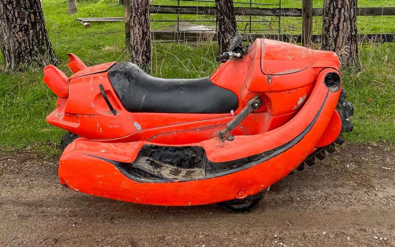 Раритетный мотовездеход-амфибия с мотором Honda - фото 1250490