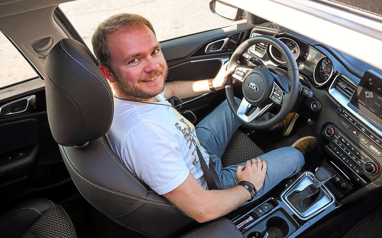 Новый Kia Ceed против лидеров гольф-класса: большой тест-драйв— фото 918635