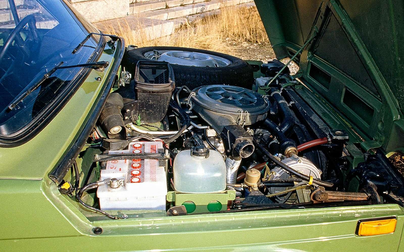 ВАЗ-2121 Нива: отпечали дорадости— фото 642404