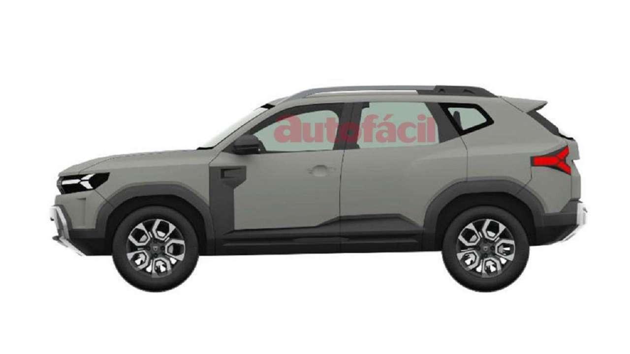 С прицелом нановую Ниву: запатентован дизайн Dacia Bigster— фото 1247820