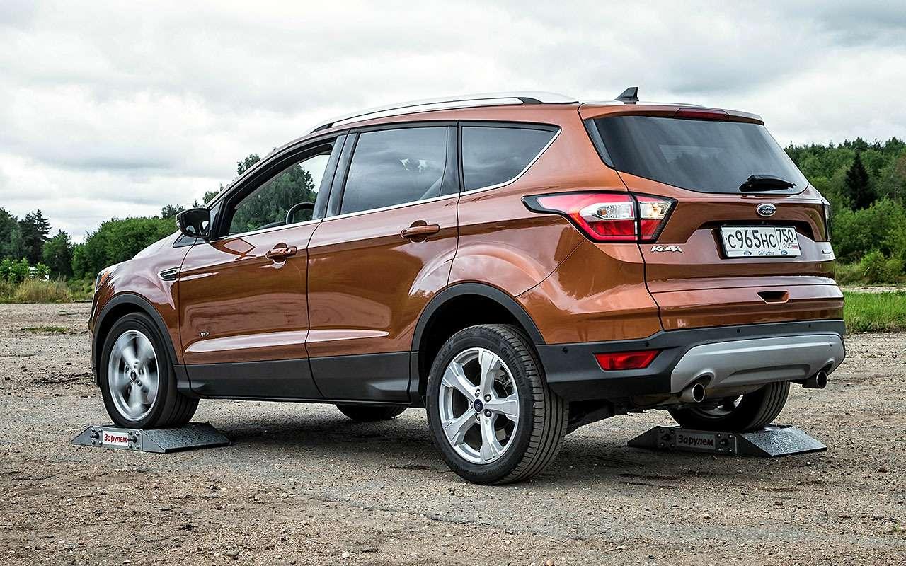 Ford Kuga изпарка ЗР: первая неисправность ипервое ТО— фото 804893