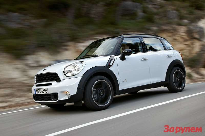 MINI Countryman side-front view