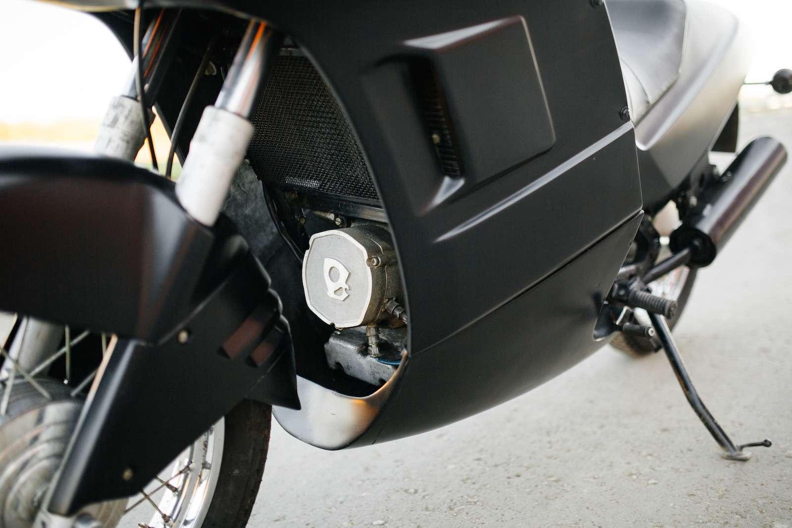 Первый советский мотоцикл сроторным двигателем: пуля сВАЗа!— фото 914948