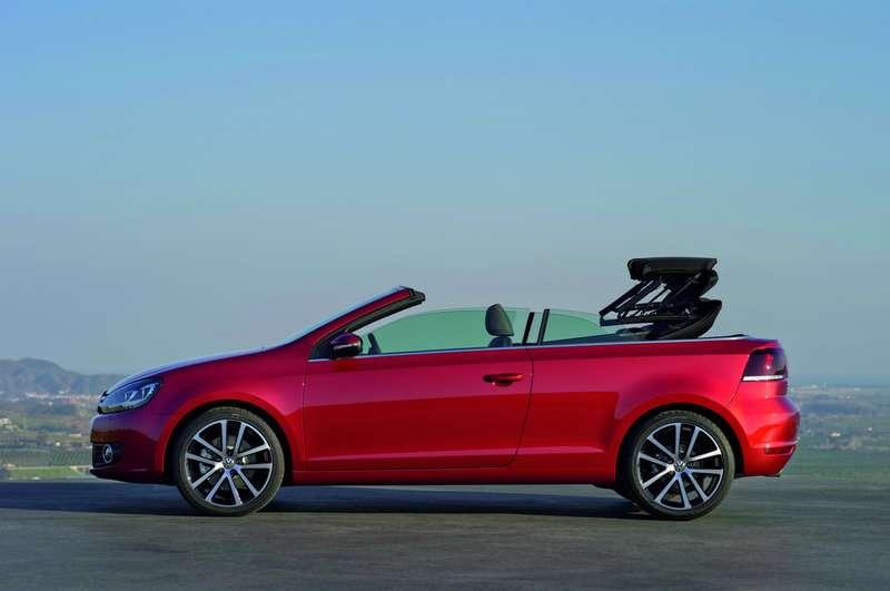стартовали продажи нового Golf Cabrio