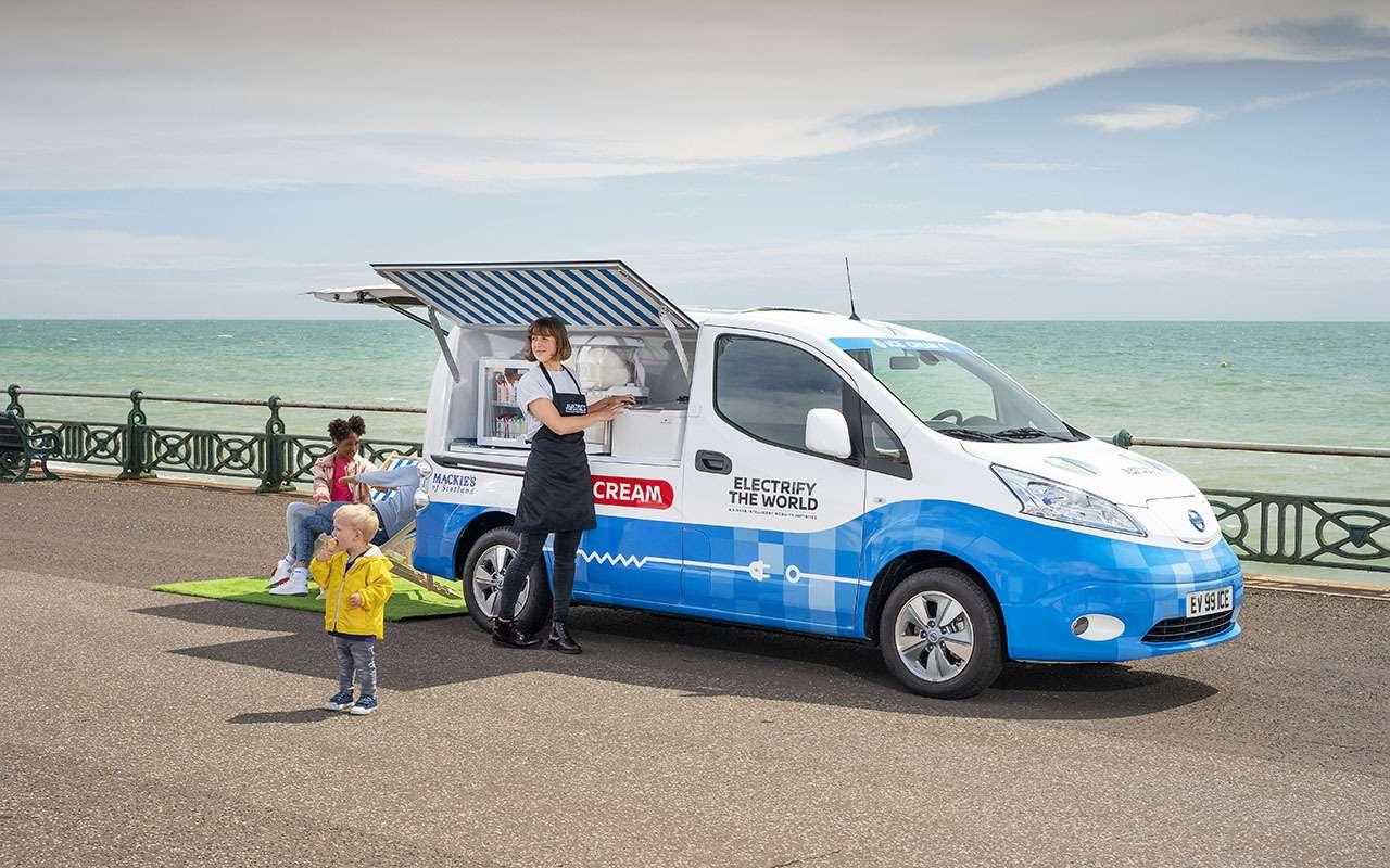 Nissan теперь угощает… мороженым!— фото 981779
