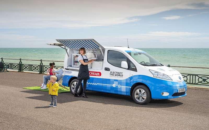 Nissan теперь угощает… мороженым!