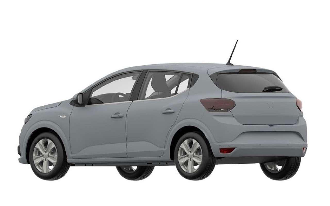 Renault запатентовала новый Sandero вРоссии— фото 1232658