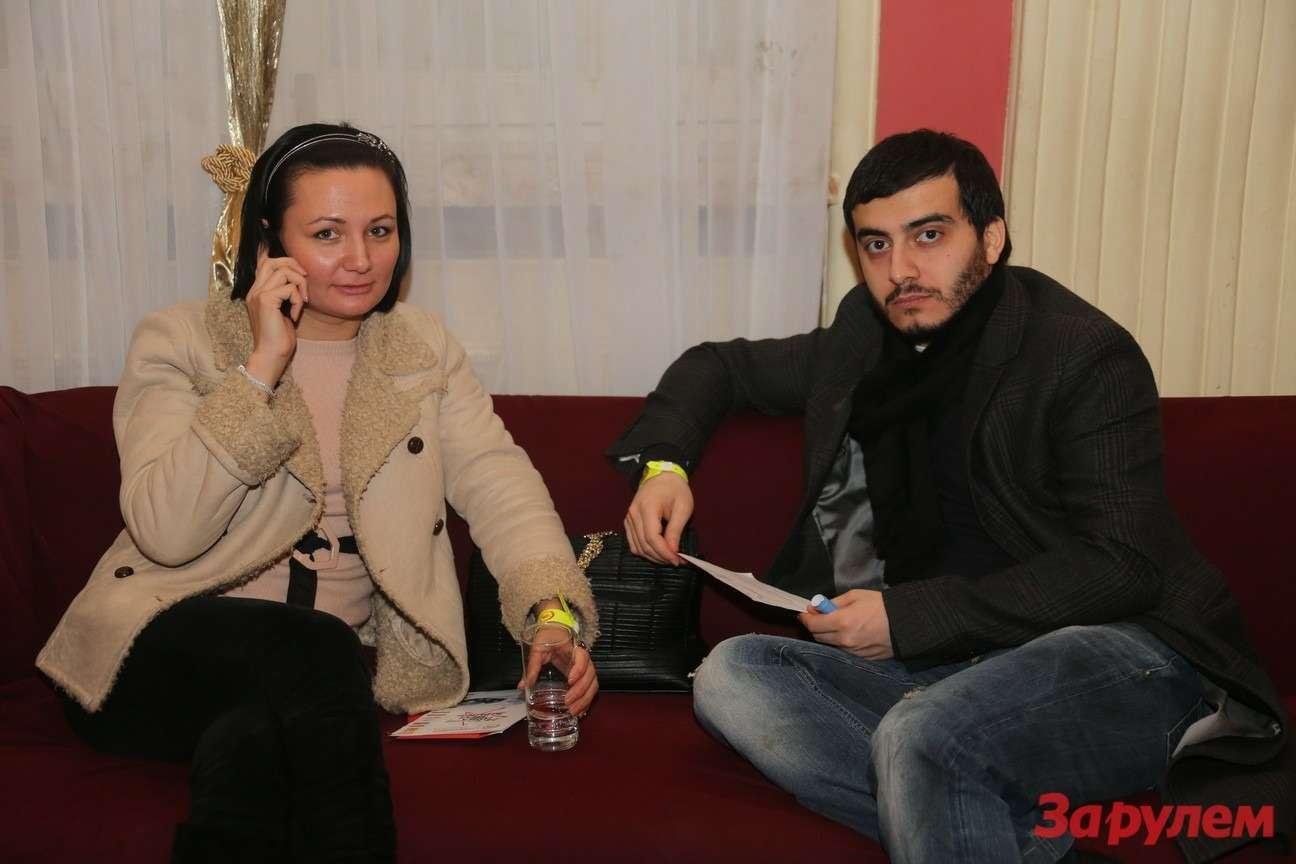 Ирина Плюснина («Сбербанк») соспутником.  Гонка Звезд «Зарулем»-2013