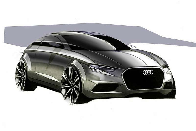 Audi представила эскизы следующего поколения A3