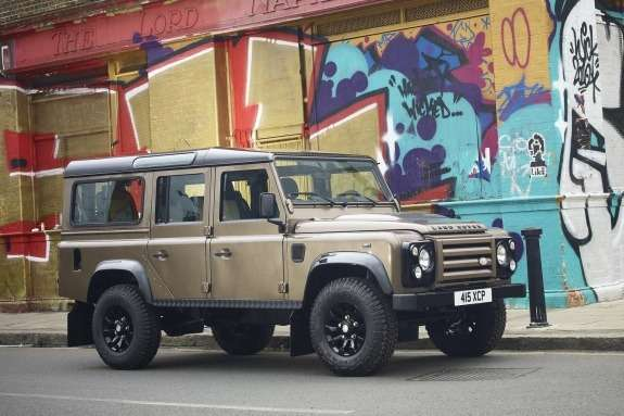 Land Rover Defender X-Tech side-front view