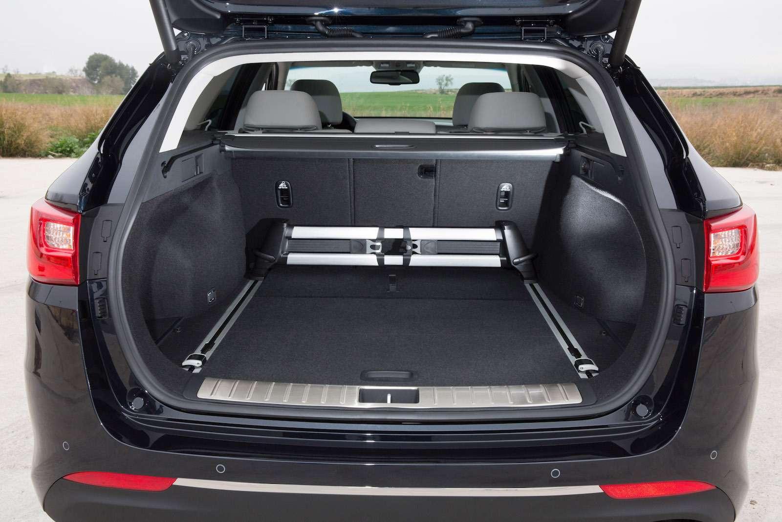 KiaOptima Sportswagon— Interior 16