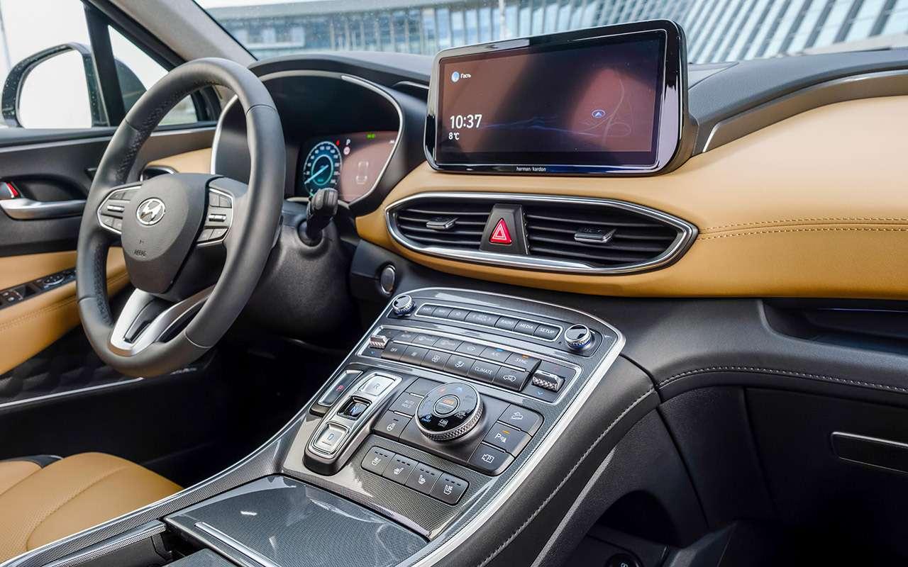 Обновленный Hyundai Santa Fe: тест самой мощной версии— фото 1249463