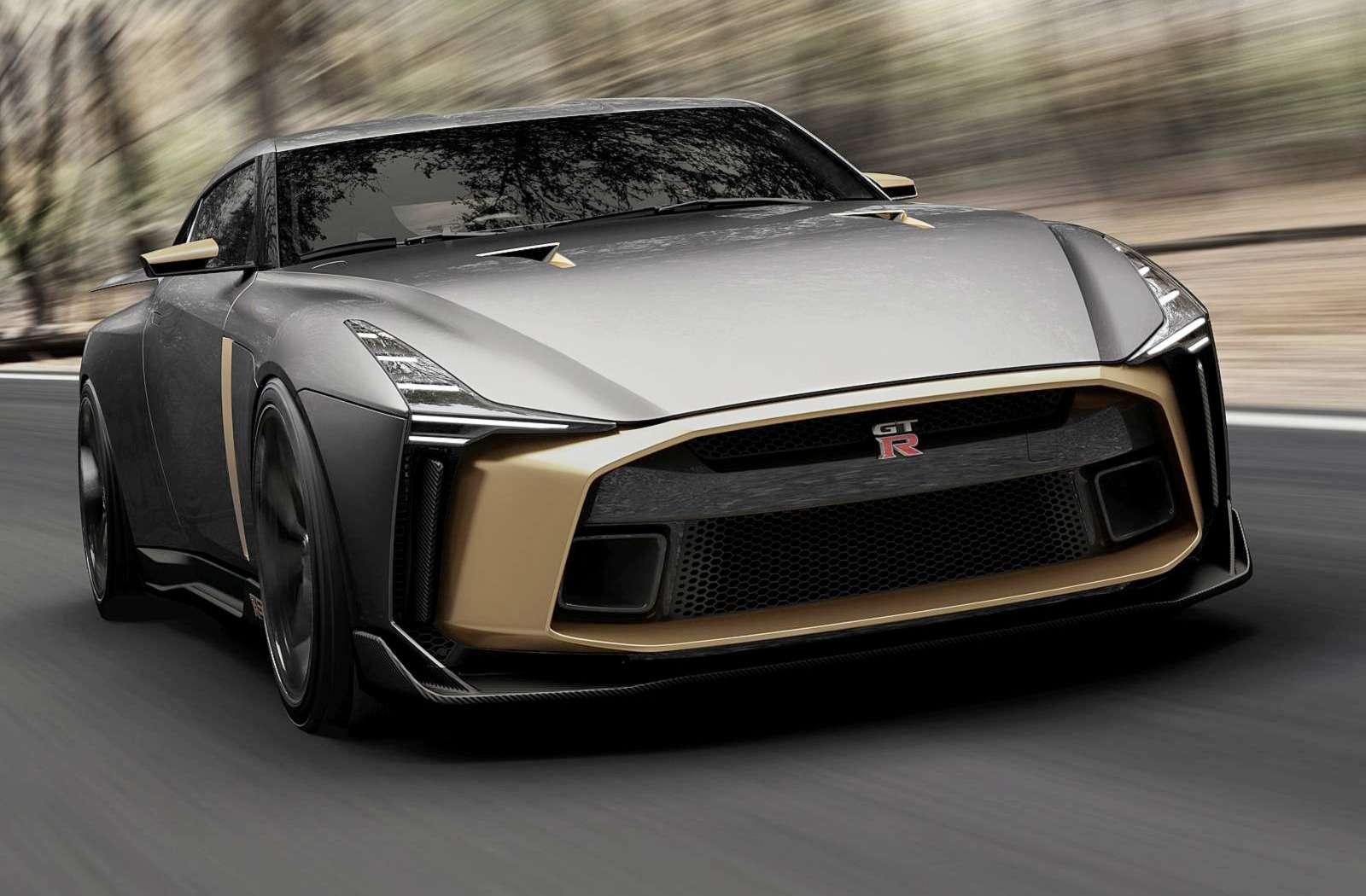 Золотой стандарт: Nissan иItaldesign представили юбилейный GT-R— фото 882721