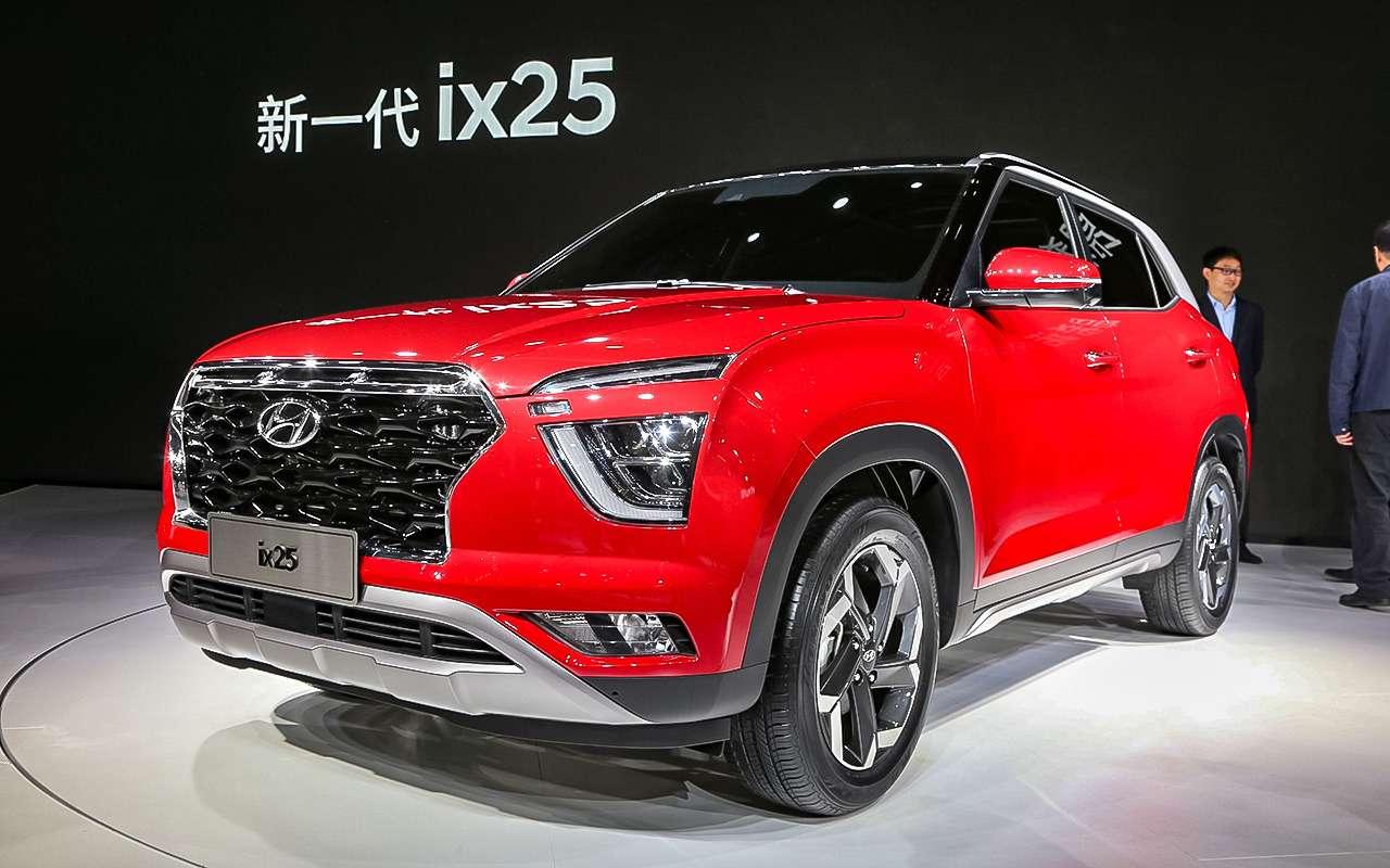 Новая Hyundai Creta— первые подробности— фото 966890