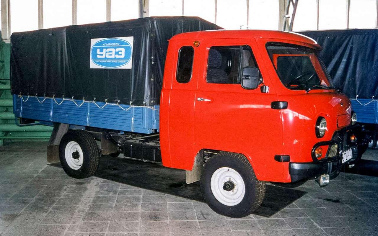 Вкус «буханки»: полная история УАЗ-450— фото 1269687