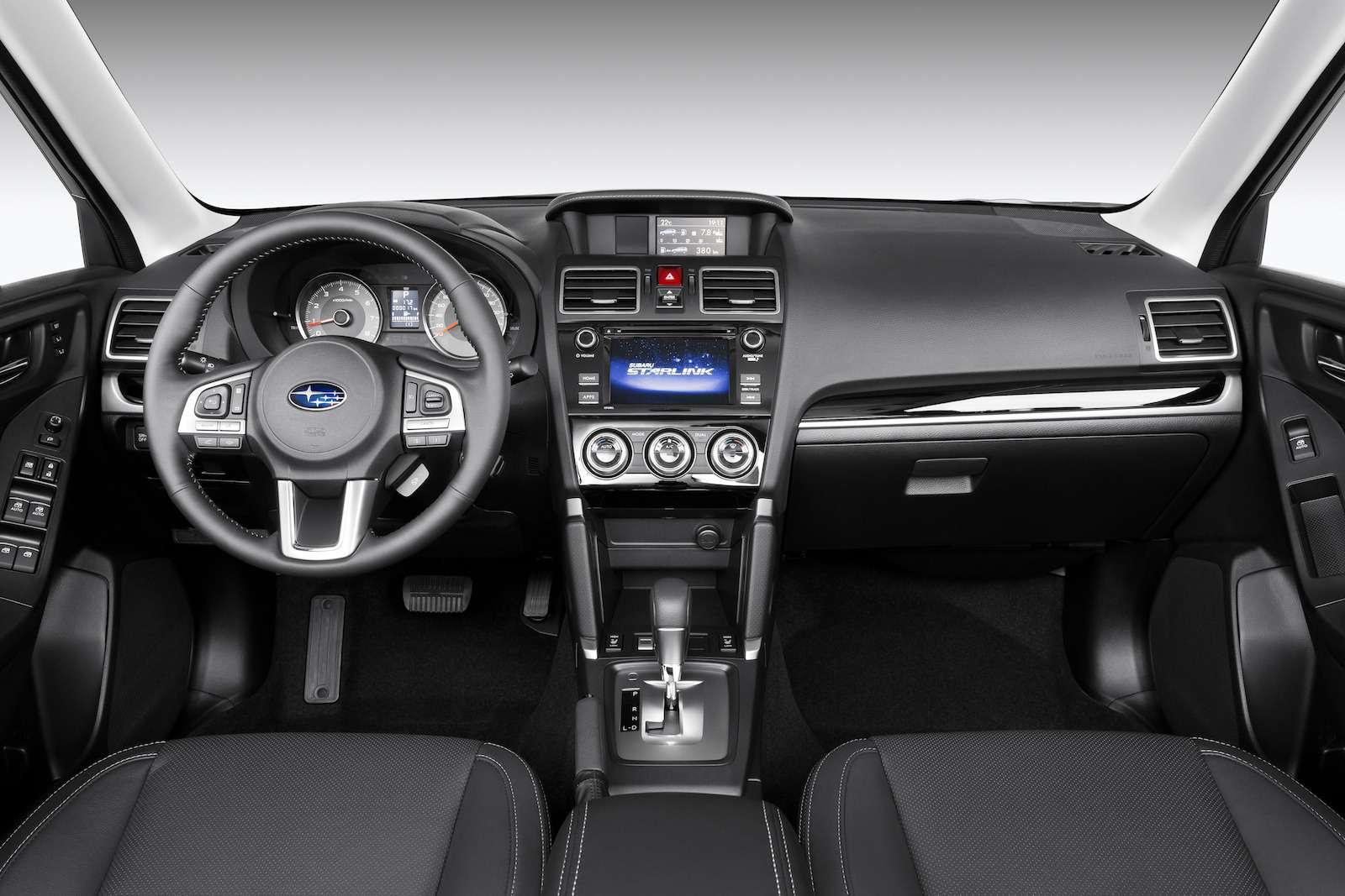 Обновленный  Subaru Forester: тише едешь...— фото 594331