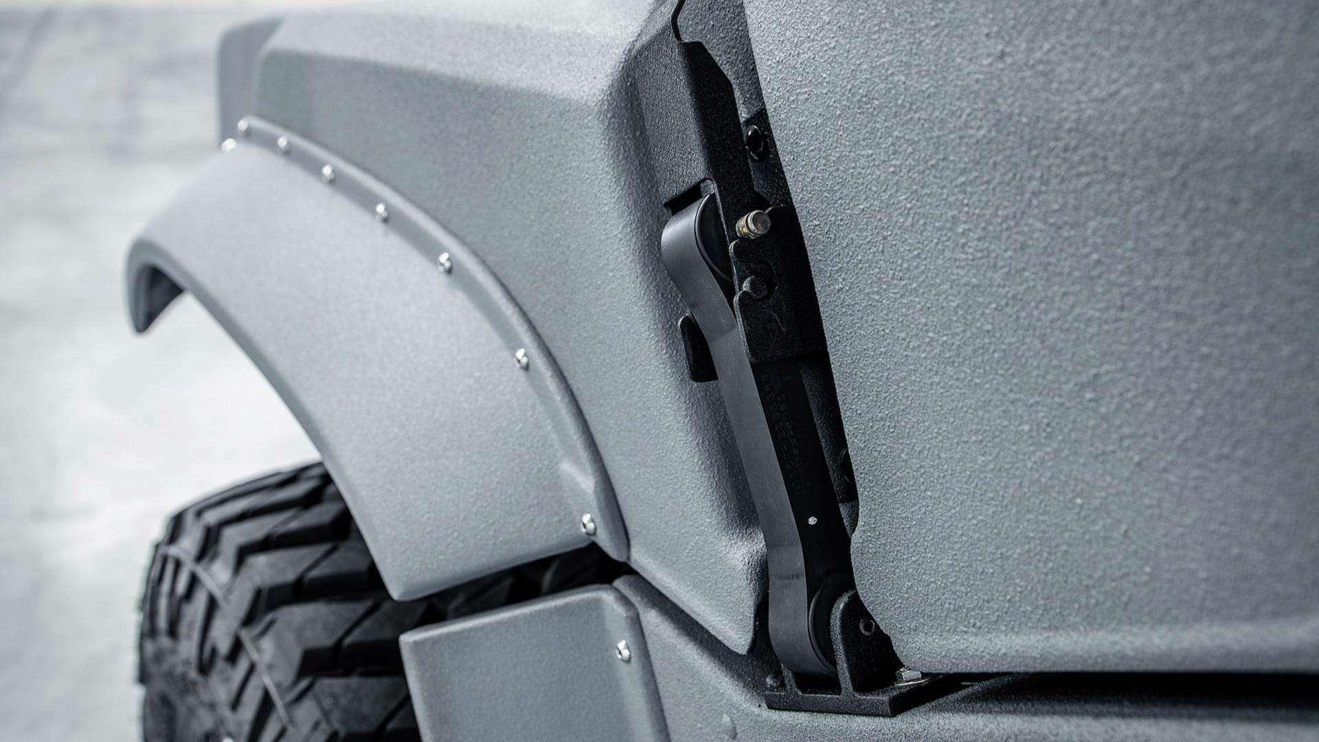 Возвращение «кувалды»: улучшенный Hummer H1поступил впродажу— фото 894629