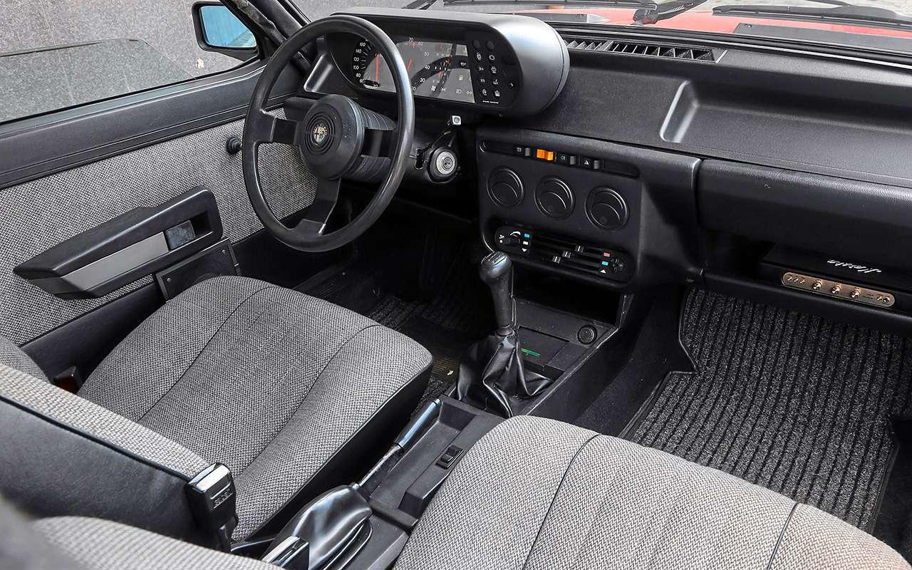 Машина комиссара Каттани— тест той самой Альфы— фото 1160800