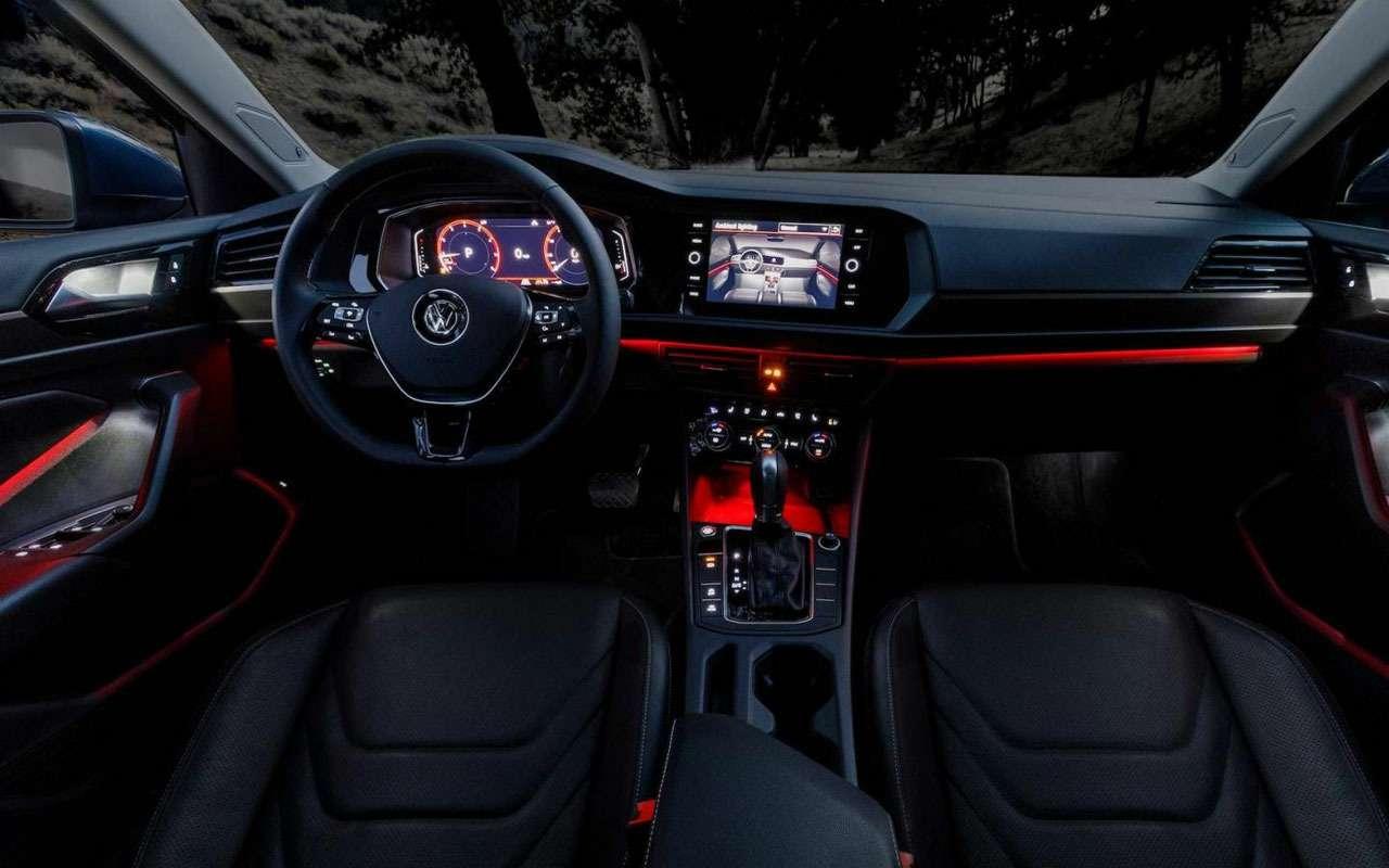 Volkswagen Jetta вРоссии получит бюджетную версию— фото 1011832