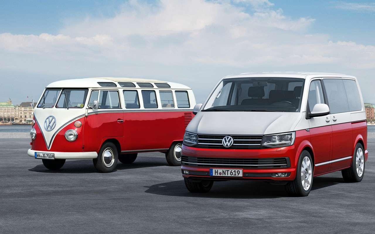 Какпридумали Volkswagen Bus? Вовсем виноваты британцы!— фото 1157621