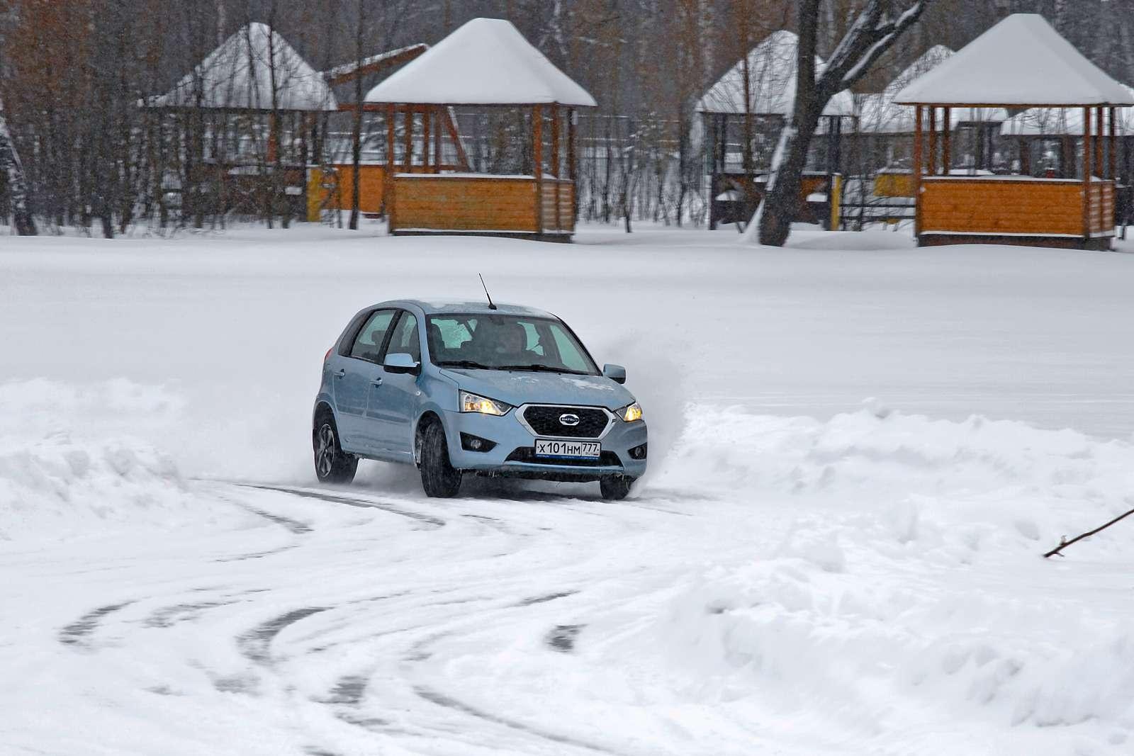 Большой зимний тест: Lada Vesta, Lada XRAY иDatsun mi-DO изпарка ЗР— фото 571453