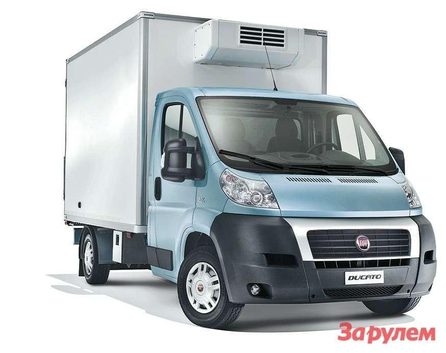 Шасси соднорядной кабиной представлены вверсиях L3и L4грузоподъемностью до1550кг
