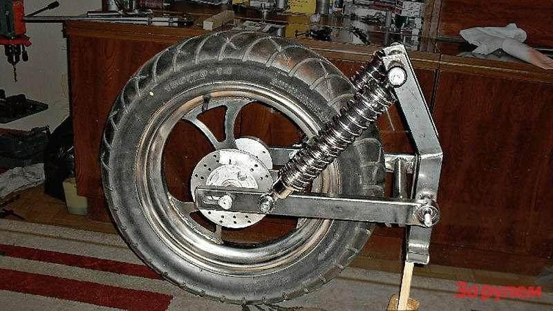 Как сделать большие колёса на мотоцикл