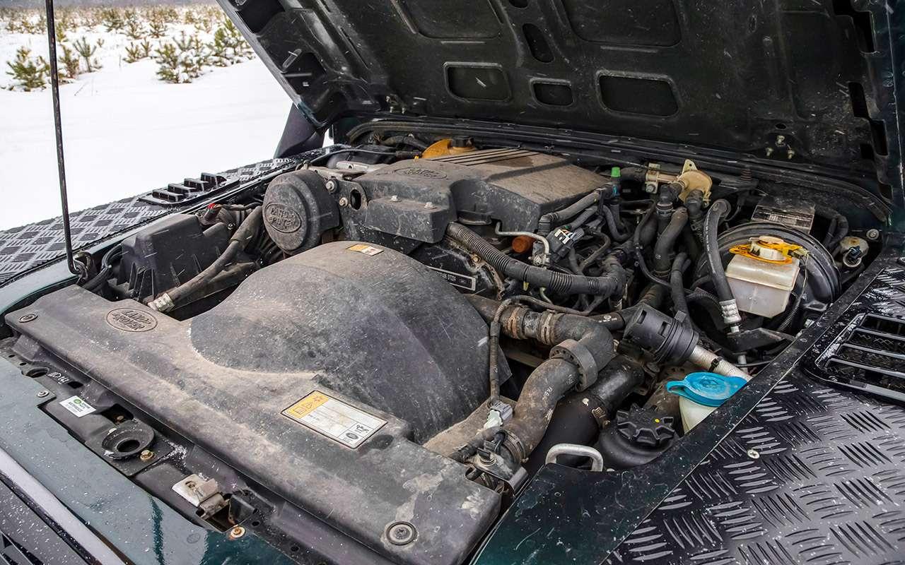 Land Rover Defender: тест сразницей в40лет— фото 1247866