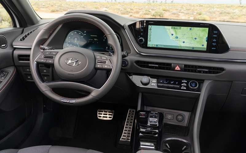 Спортивный седан Sonata NLine: первые фото
