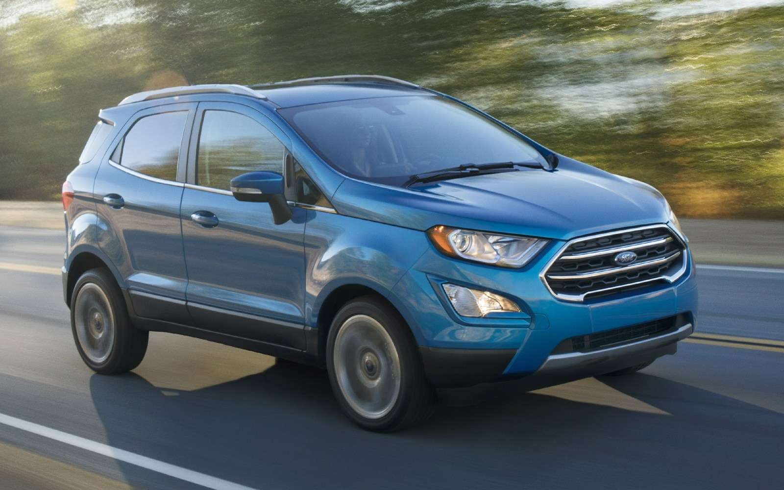 Обновленному паркетнику Ford EcoSport прикрутили планшет— фото 664106