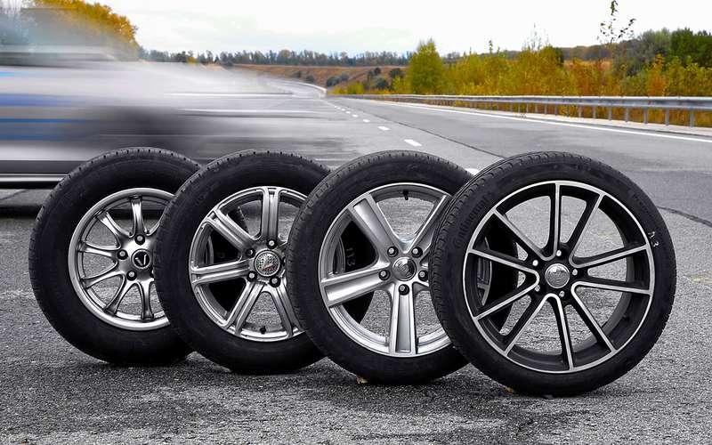 Тормозим нашироких шинах— результат вас удивит