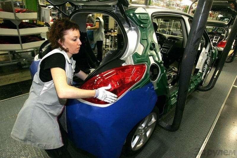Завод Peugeot вСошо— фото 90231