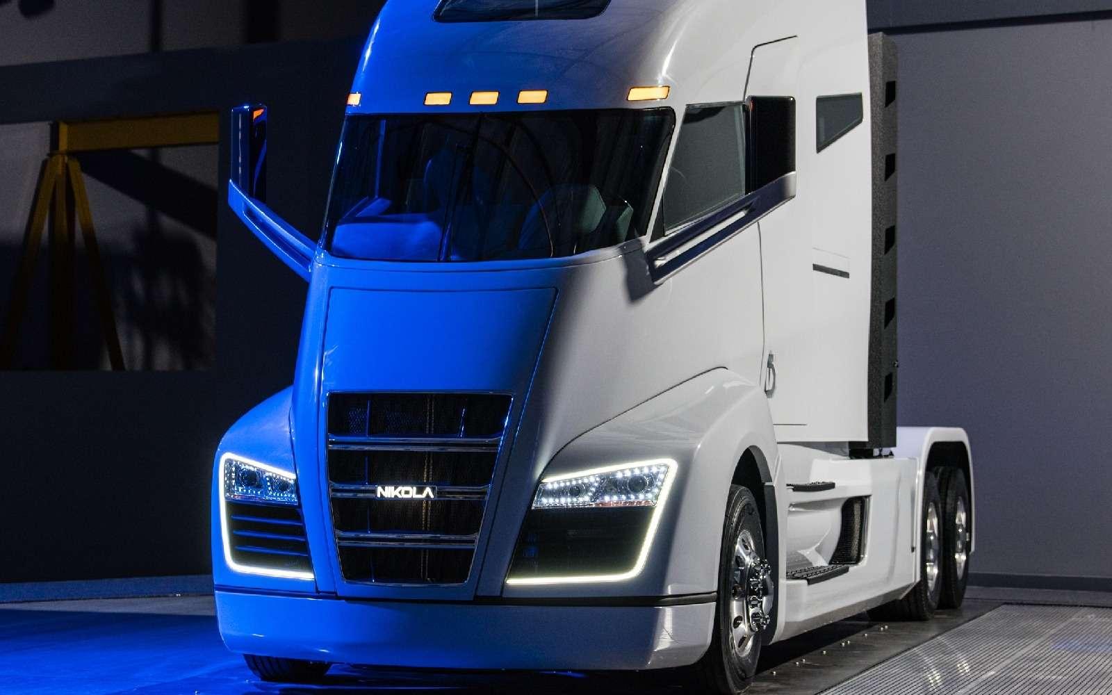 Воздушный замок: Nikola Motor сдержала слово иявила миру чудо-грузовик— фото 672499
