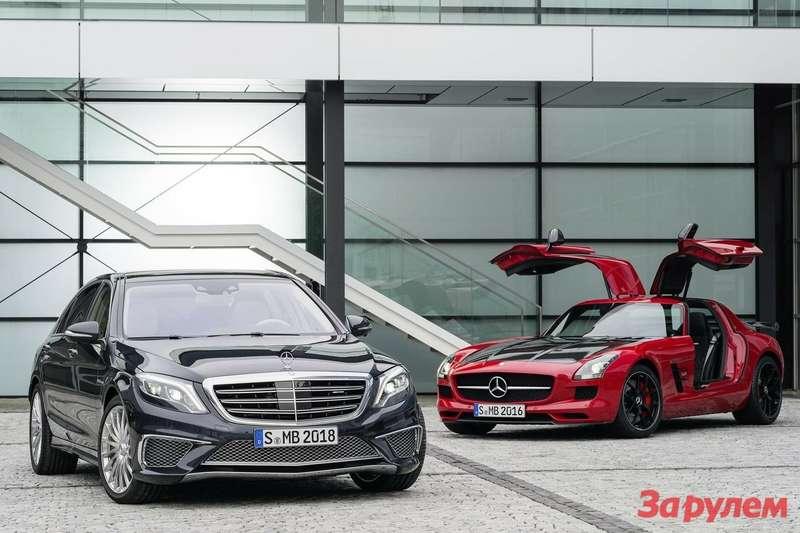 Mercedes-Benz SLS AMG Final Edition
