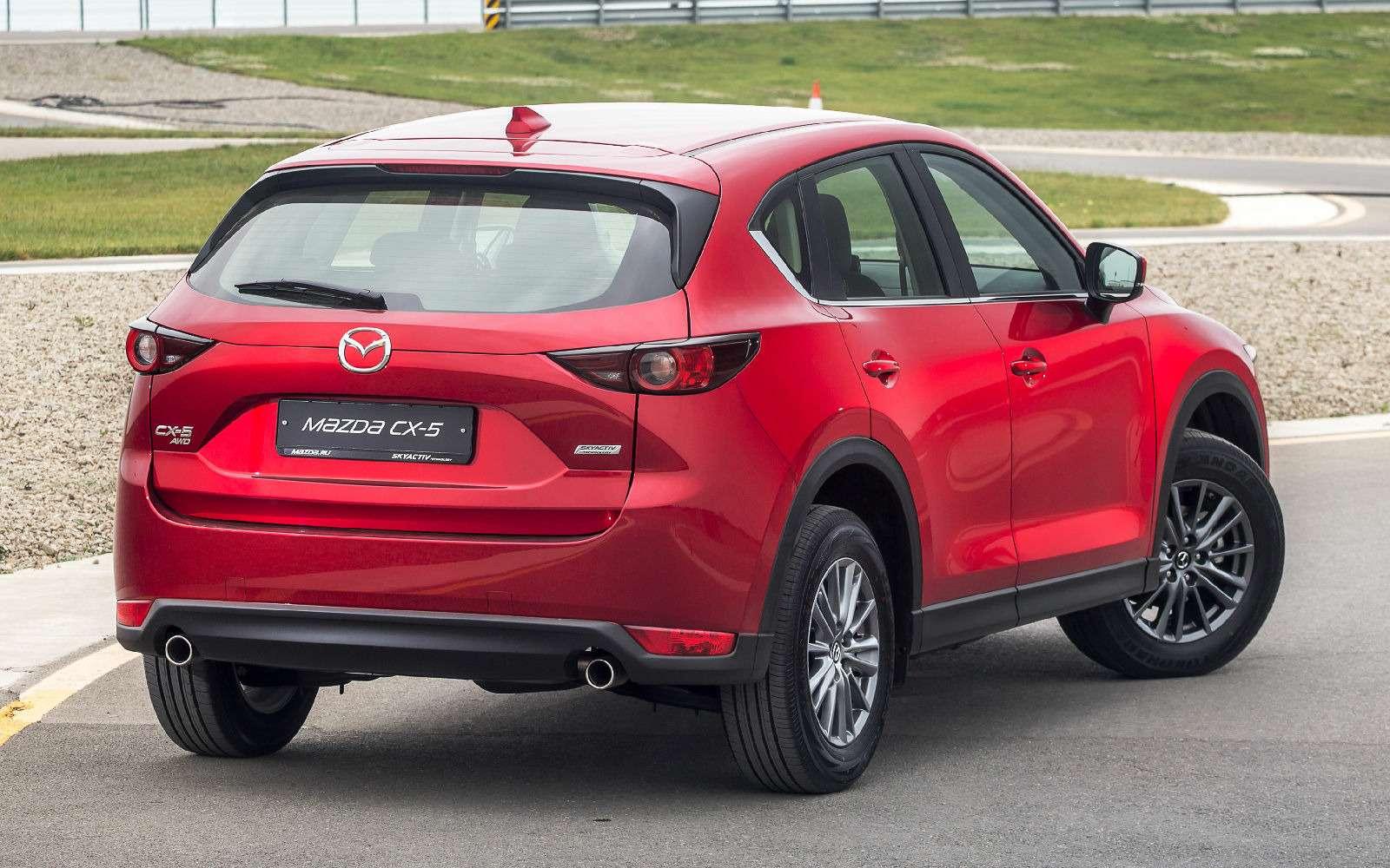 Mazda объявила рублевые цены накроссовер CX-5 второго поколения— фото 766913