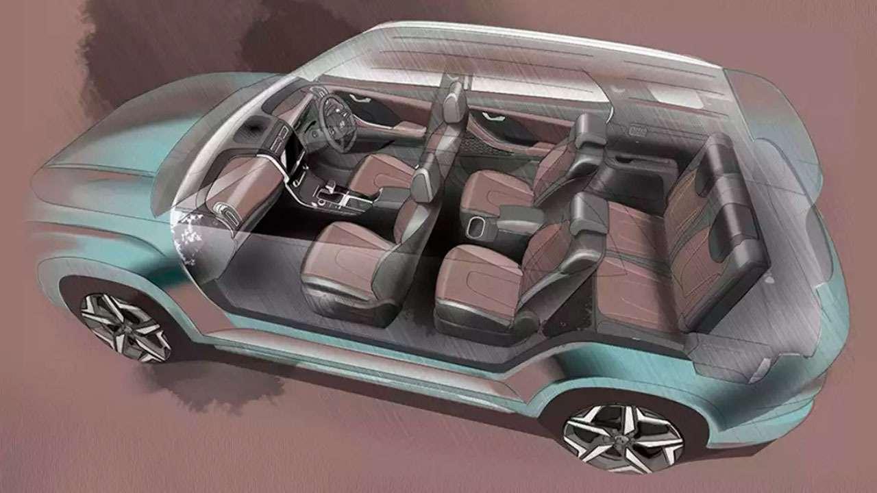 Hyundai Alcazar— новая семиместная Creta— фото 1237935