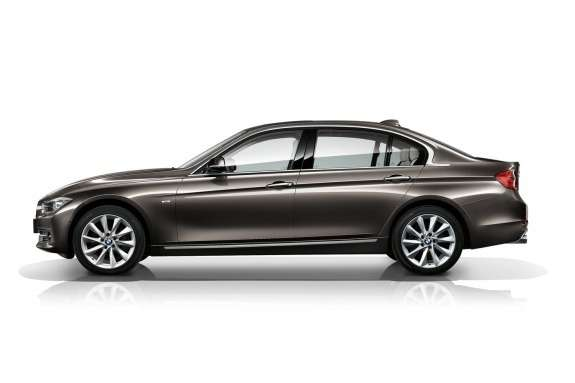 BMW 3-Series Long Wheelbase side view